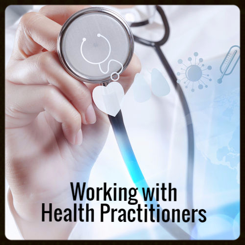 Working with Health Practitioners - Copyright: <a href='http://www.123rf.com/profile_everythingpossible'>everythingpossible / 123RF Stock Photo</a>